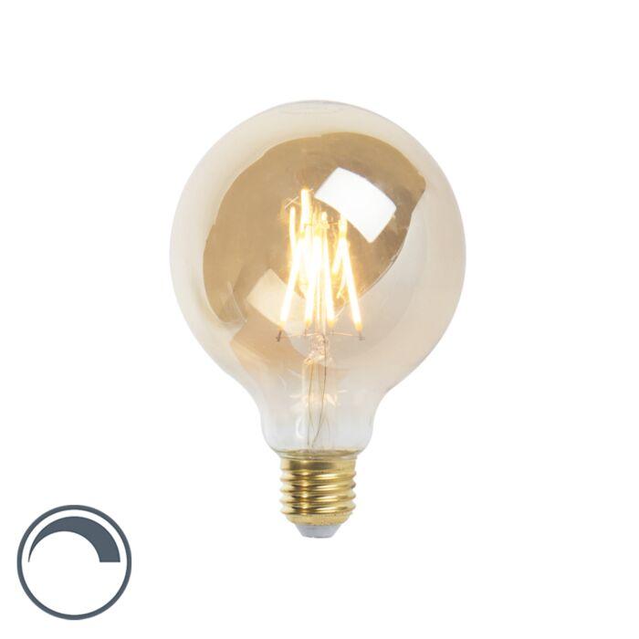 LED-E27-dimmbare-Glühlampe-G95-goldline-360lm-2200K