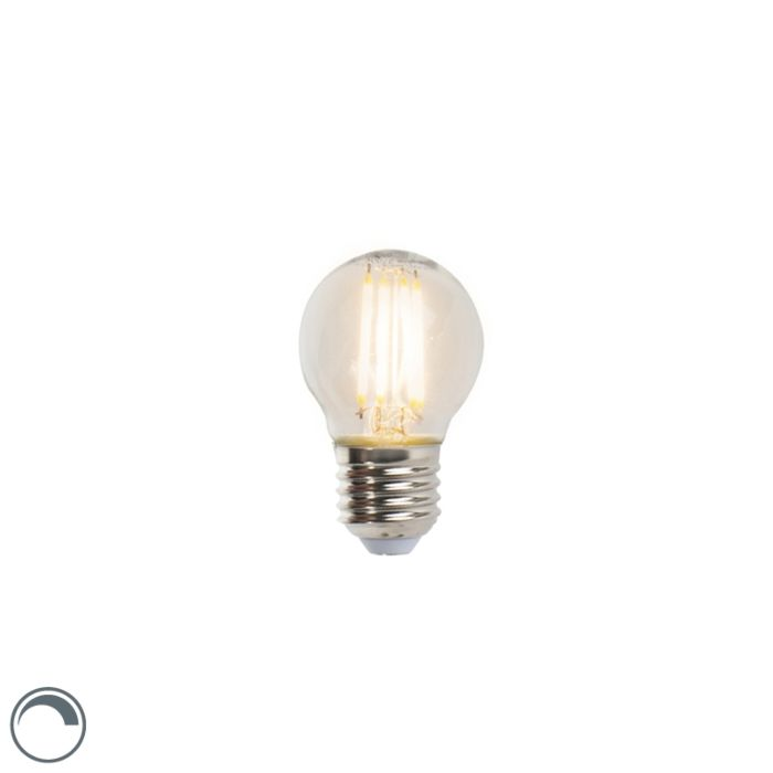 LED-Lampe-E27-5W-470lm-P45-dimmbar