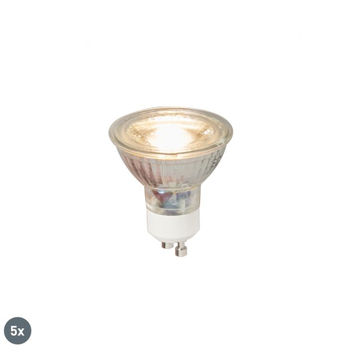 5er-Set-GU10-LED-Lampe-COB-5W-380LM-3000K