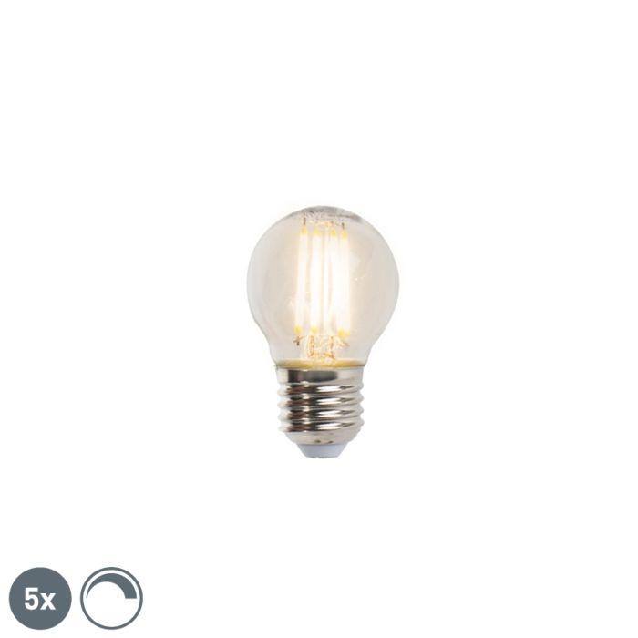 5er-Set-E27-dimmbare-LED-Lampen-5W-470lm-2700K