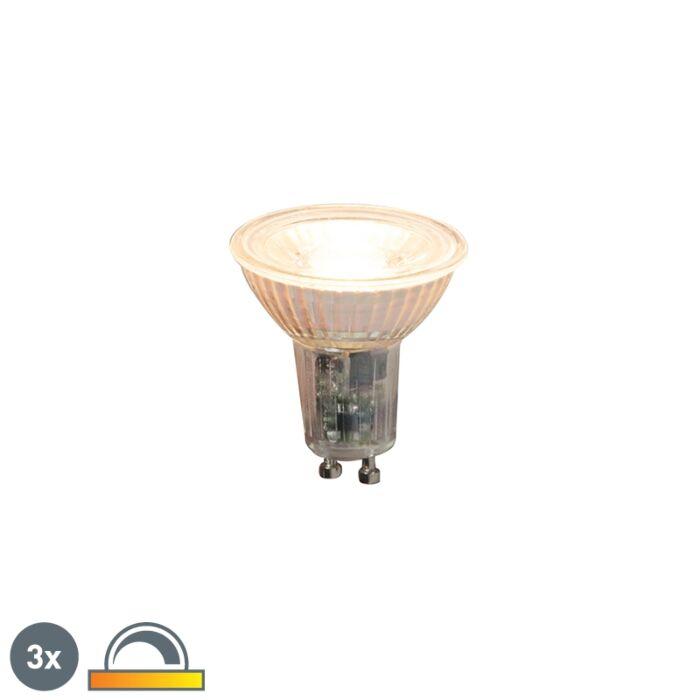 3er-Set-GU10-dimmbare-LED-Lampen-5.5W-360lm-2000K---2700K
