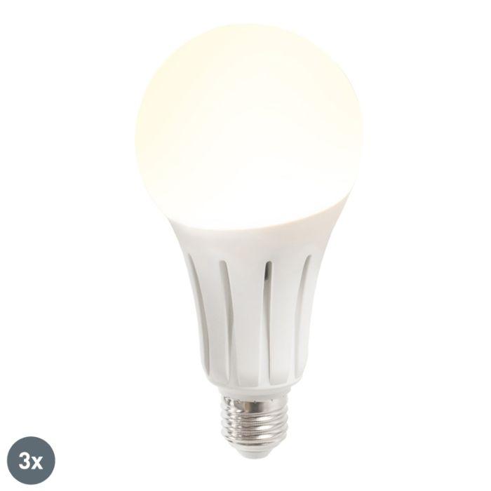 3er-Set-LED-Lampe-B60-18W-E27-warmweiß