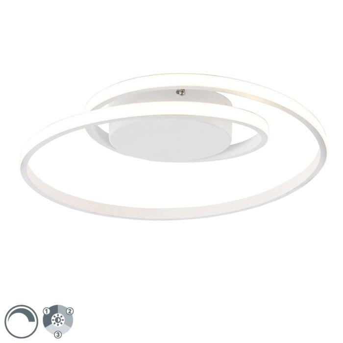 Design-Deckenleuchte-weiß-inkl.-LED-3-stufig-dimmbar---Krula