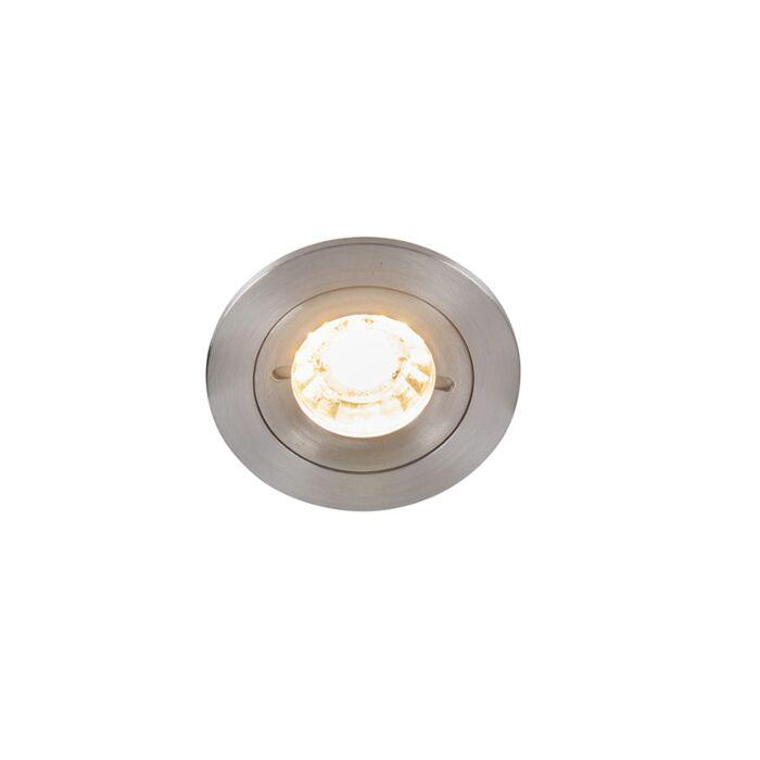 Modernes-Einbau-Spot-Aluminium-IP44---Xena-Round