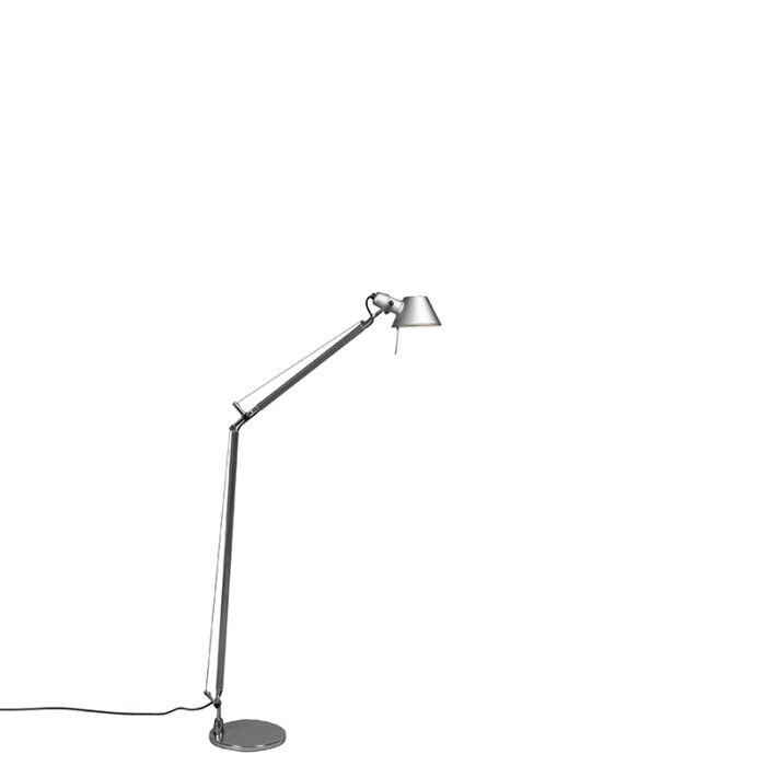 Artemide-Stehleuchte-Aluminium-verstellbar---Artemide-Tolomeo-Lettura