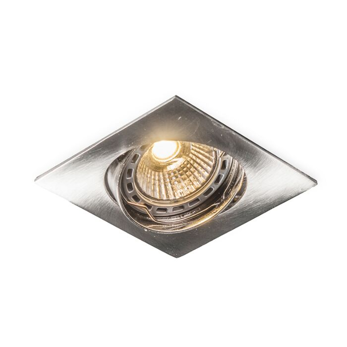 LED-Einbaustrahler-schwenkbar-quadratisch-Stahl---Edu