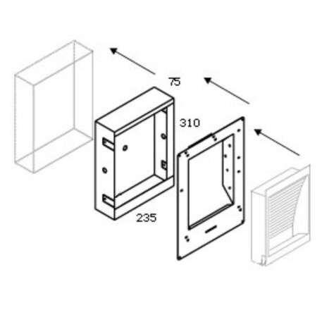 Delta-Light-Concrete-Box-139-mit-Plasterkit