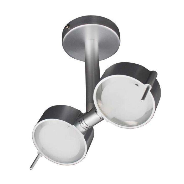 Deckenleuchte-Eye-2-Aluminium