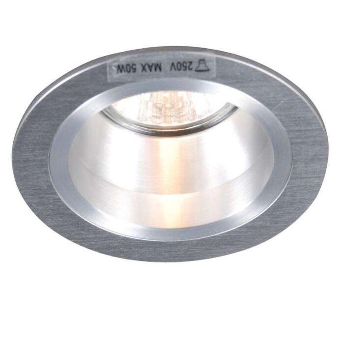 Einbaustrahler-Dept-Round-Aluminium