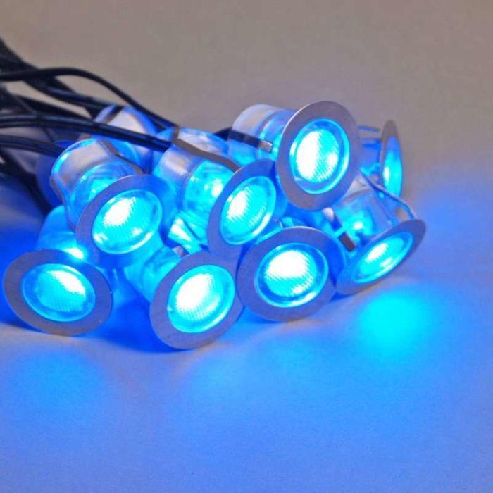 Komo-LED-Einbauset-von-10-Stück-IP65-blau
