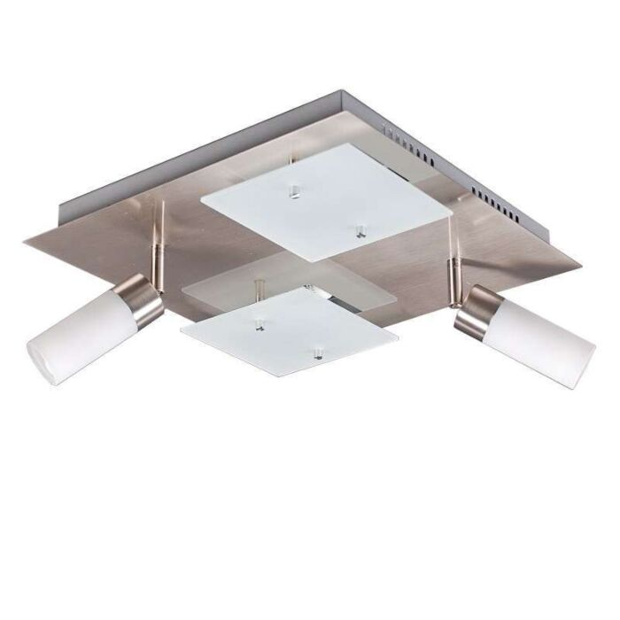 Deckenleuchte-Capri-4-Stahl