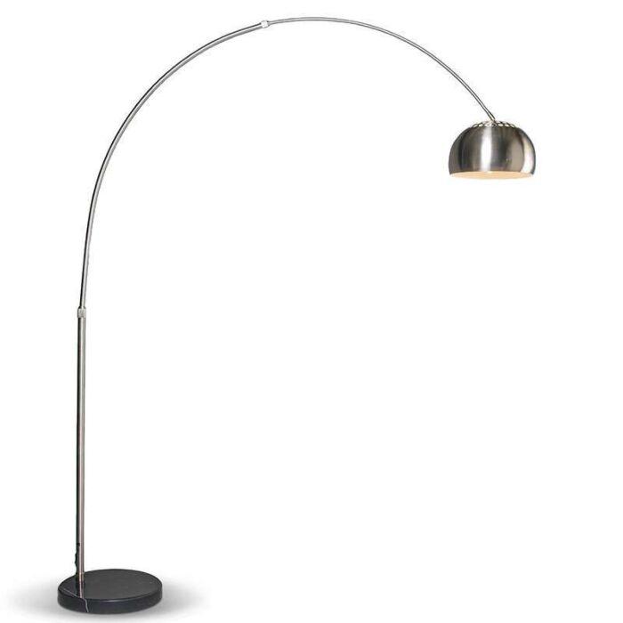 Moderne-Bogenlampe-Stahl-verstellbar---Grande