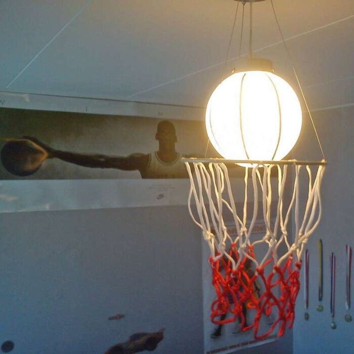 Pendelleuchte-Kids-Basketball