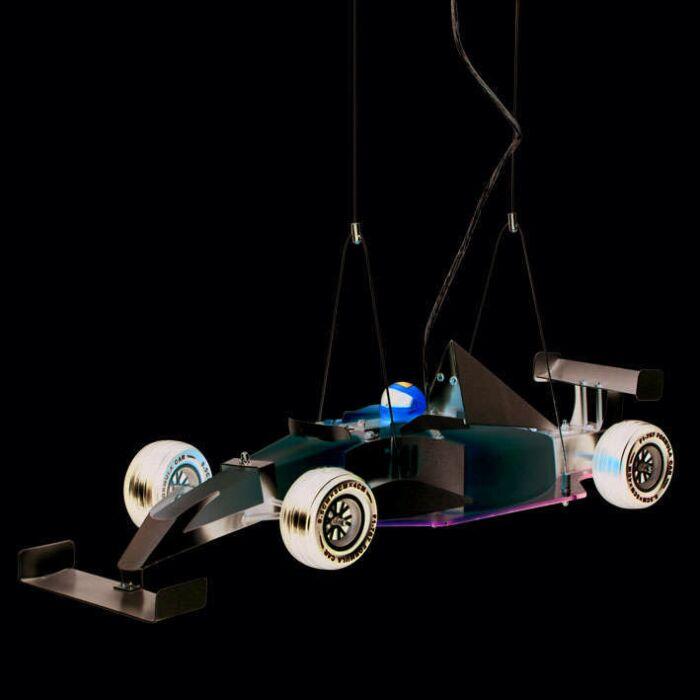 Pendelleuchte-Kids-Formel-1-Auto