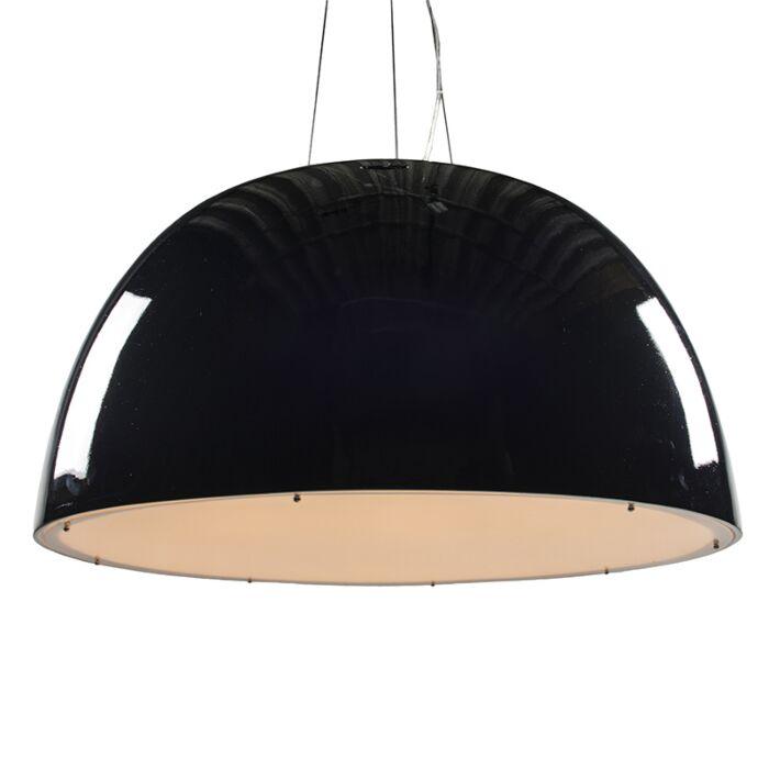 Pendelleuchte-Glossy-100cm-schwarz
