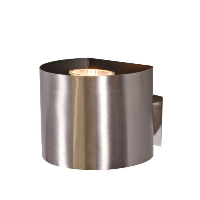 Steckerleuchte-Plug-rund-Stahl