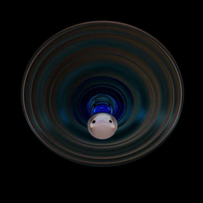Deckenleuchte-Gipsy-Rosette-Ringe