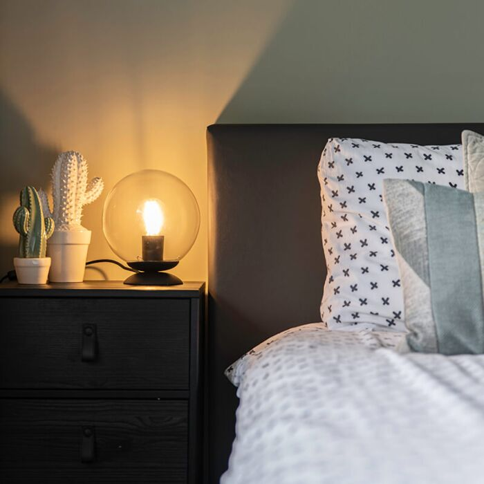 Art-Deco-Tischlampe-schwarz---Pallon