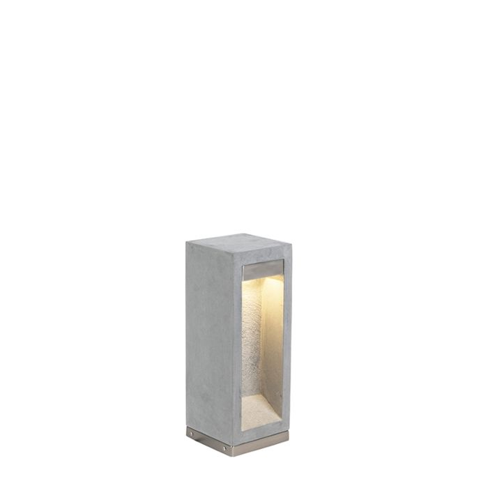 Moderne-Stehleuchte-grau-40-cm---Sneezy